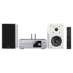 Pioneer X-HM76D-SW Silver/White - Microsistema di rete Hi-Fi