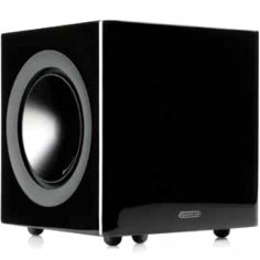 MONITOR AUDIO  NEW RADIUS 380 ACTIVE SUBWOOFER BLACK GLOSS