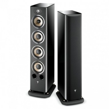 Focal Aria 936 BHG Coppia diffusori da pavimento Black High Gloss