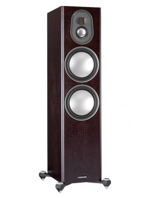 MONITOR AUDIO GOLD 300 5G DARK WALNUT - COPPIA DIFFUSORI DA PAVIMENTO