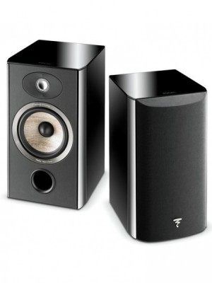 Focal Aria 906 BHG Coppia diffusori da scaffale Black High Gloss