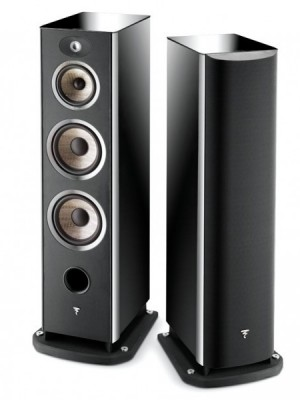 Focal Aria 948 BHG Coppia diffusori da pavimento Black High Gloss